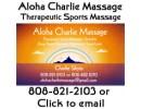 Aloha Charlie Massage