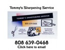 Tommy's Sharpening Service