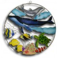 Aquarium with Whale and Dolphin - large
