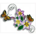 Butterflies with Plumeria swinging